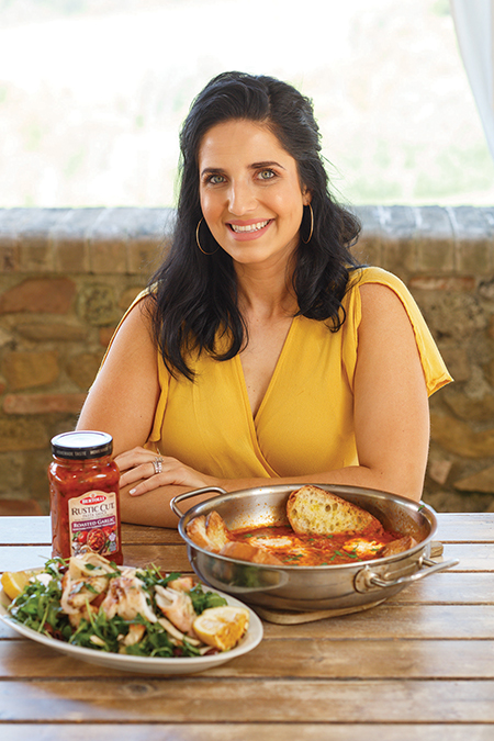 "Italian-American chef Laura Vitale, host of ""Laura in the Kitchen,"""