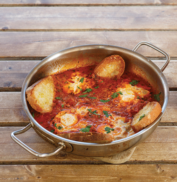 Recipe: Eggs in Purgatory