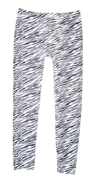 Zebra Striped Leggings | Swim Rags