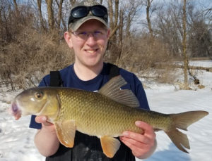 Ethan Rasset Holds his Second Minnesota State Record Golden Redhorse
