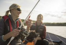 Women Escape to the Fresh Water Fishing of Minnesota