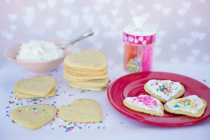Valentine's Day Heart Cookie Treats