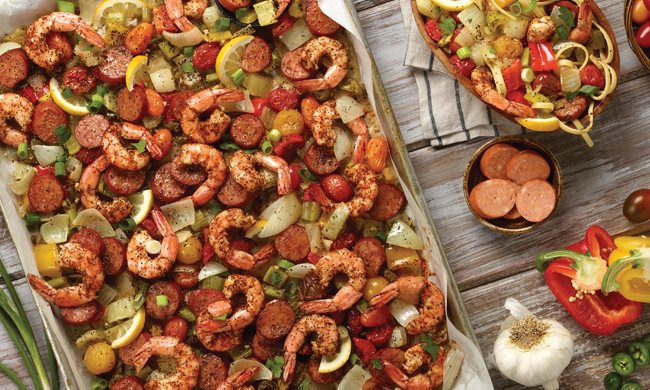 Spicy Sheet Pan Roasted Jambalaya Recipe | Family Life Tips
